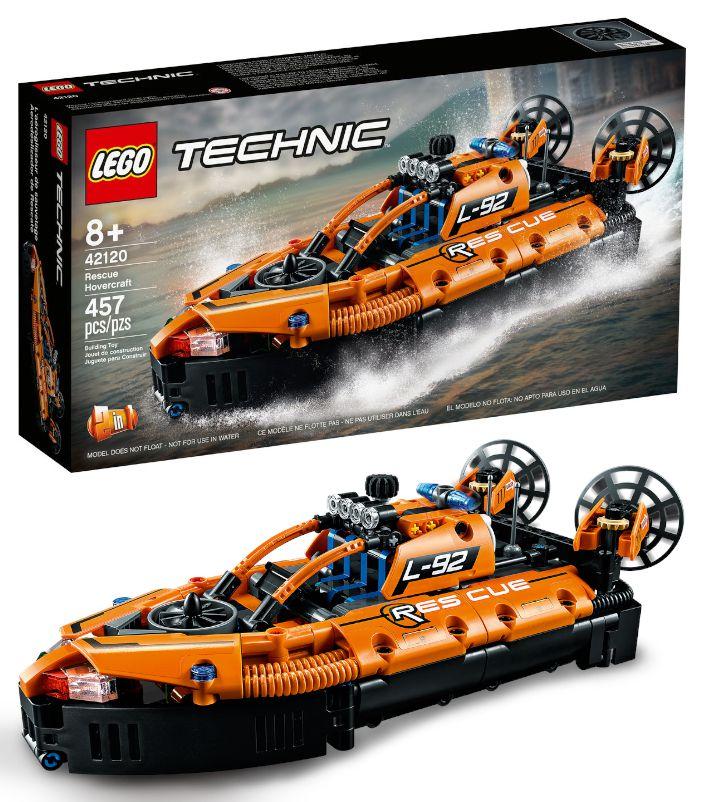GIOCHI LEGO HOVERCRAFT DI SALVATAGGIO