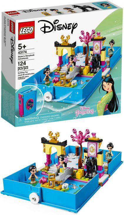 GIOCHI LEGO LIBRO DELLE FIABE DI MULAN