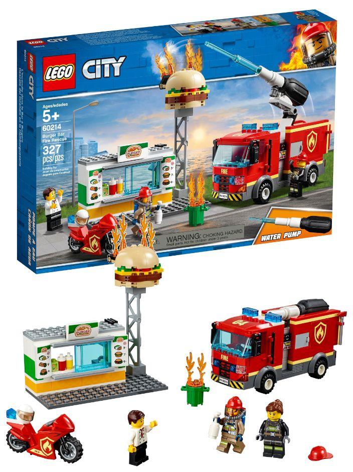 GIOCHI LEGO FIAMME AL BURGER BAR