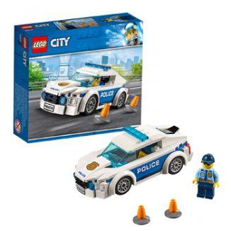 GIOCHI LEGO AUTO DI PATTUGLIA DELLA POLIZIA 1pz