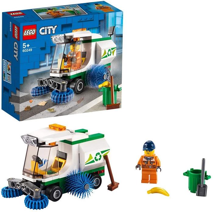 GIOCHI LEGO CAMION PULIZIA STRADE 1pz