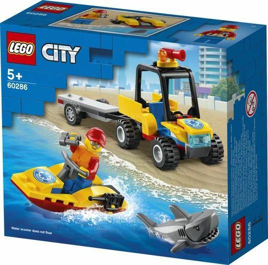 GIOCHI LEGO ATV SOCCORSO BALNEARE