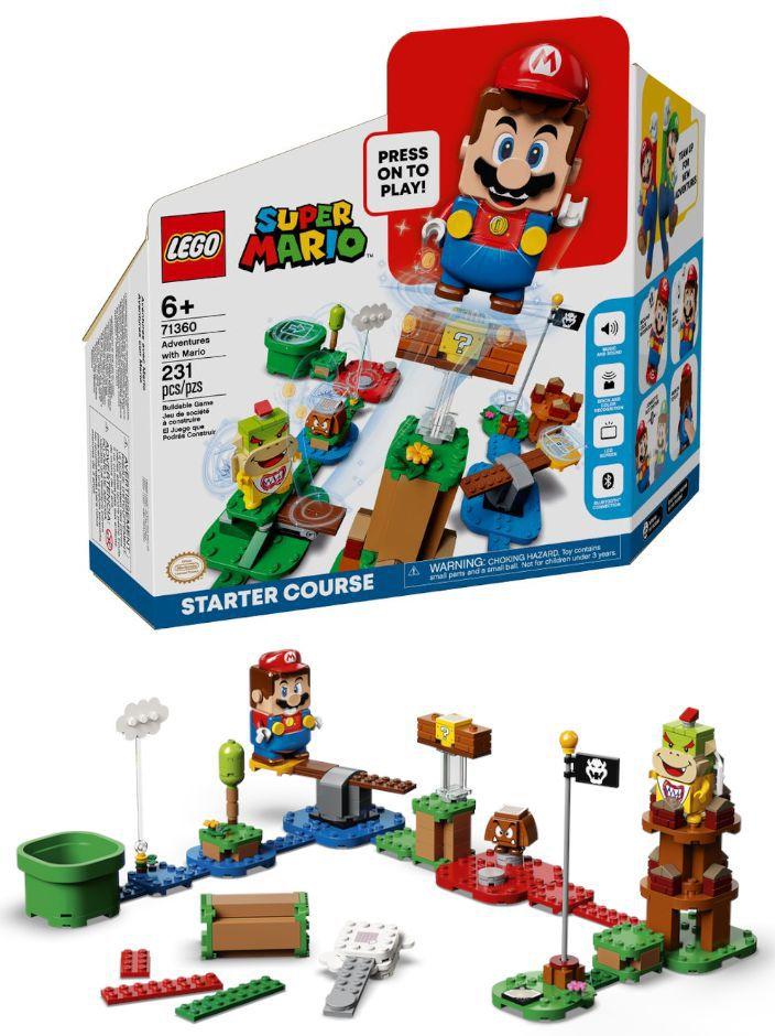 GIOCHI LEGO AVVENTURE DI MARIO STARTER PACK