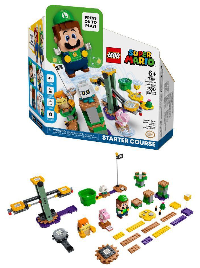GIOCHI LEGO AVVENTURE DI LUIGI STARTER PACK