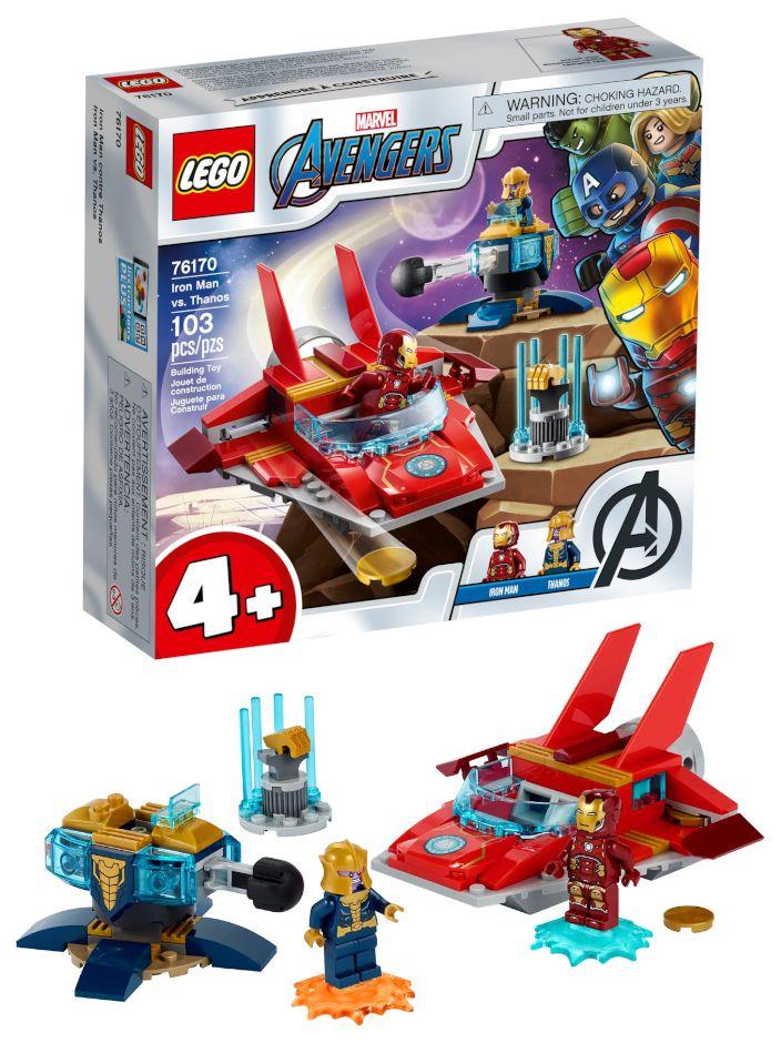 GIOCHI LEGO MARVEL SUPER HEROES IRON MAN VS. THANOS