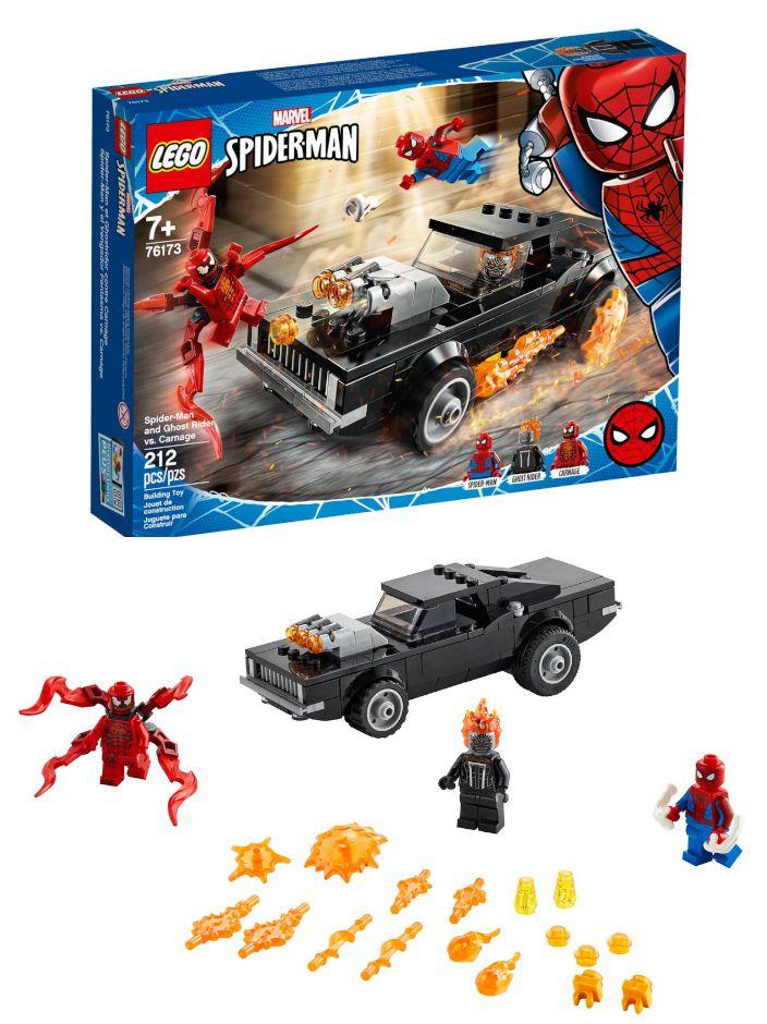 GIOCHI LEGO MARVEL SUPER HEROES SPIDERMAN E GHOST RIDER VS. CARNAGE