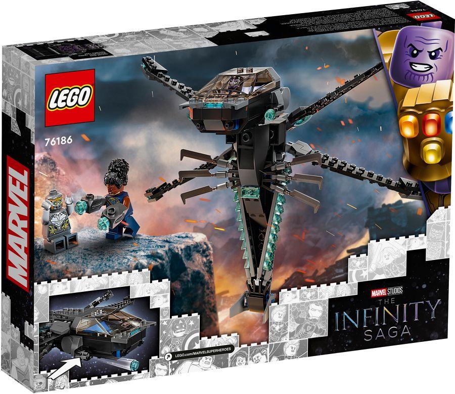 GIOCHI LEGO AVENGERS DRAGONE VOLANTE BLACK PANTHER