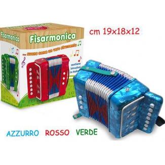 GIOCHI FISARMONICA 7 CHIAVI 18CM