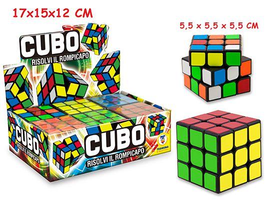 GIOCHI CUBO MAGICO 5,5x,5cm 1pz