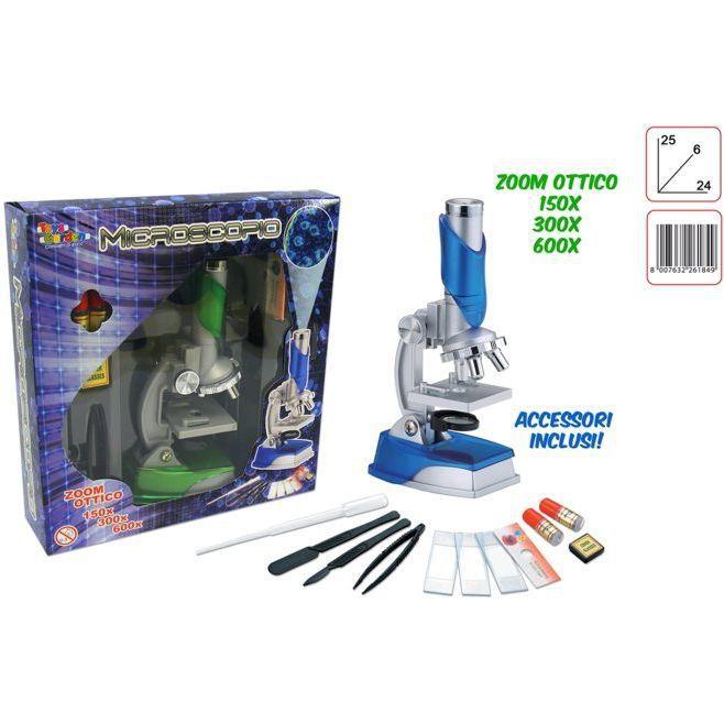 GIOCHI MICROSCOPIO  1pz - 150X 300X 600X