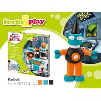 GIOCHI FIMO KIDS SET ROBOT STAEDTLER