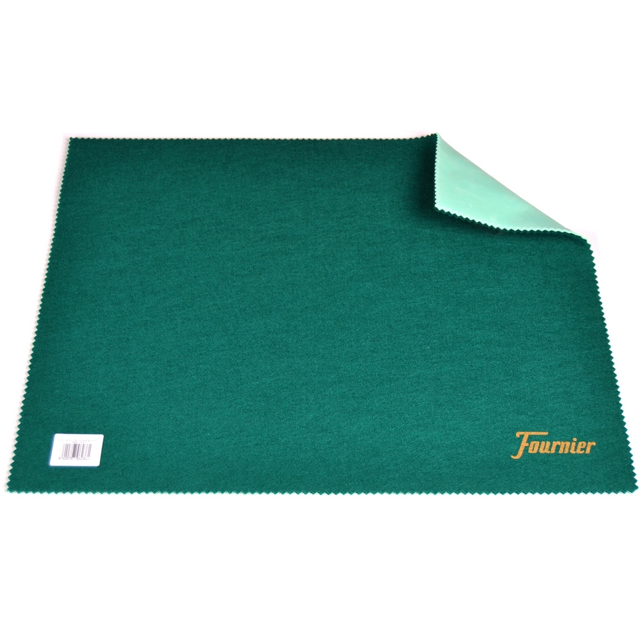 TAPPETO VERDE POKER 40x50cm  BICYCLE FOURNIER - CON GOMMA