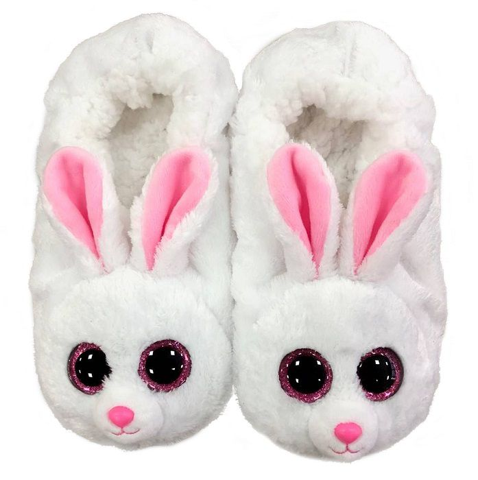 PELUCHES BEANIE 1pz PANTOFOLE BUNNY SMALL mis.26-28