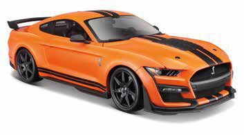 GIOCHI AUTO 1:24 FORD MUSTANG SHELBY GT500 1pz