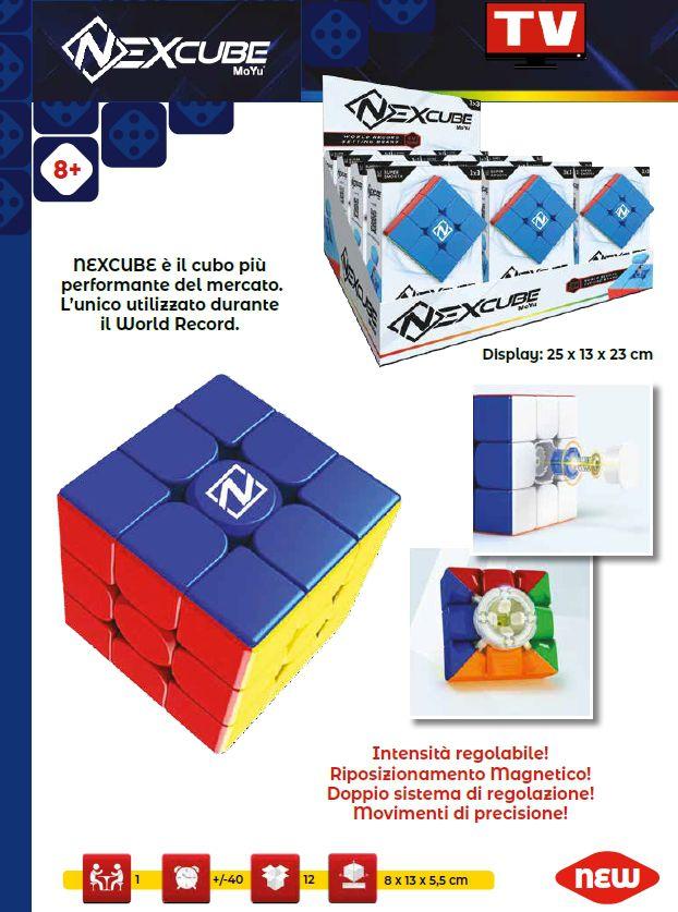 GIOCHI CUBO NEXCUBE 3X3 CLASSIC 1pz