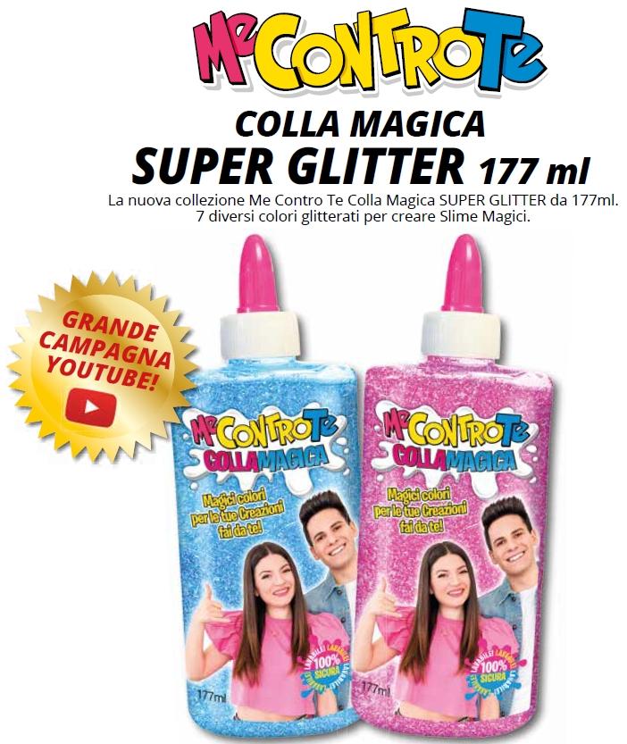 GIOCHI COLLA MAGICA SUPER GLITTER 1pz ME CONTRO TE