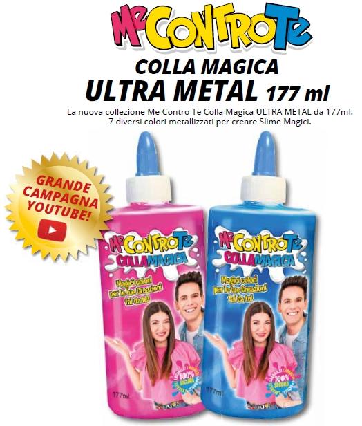 GIOCHI COLLA MAGICA ULTRA METAL 1pz ME CONTRO TE