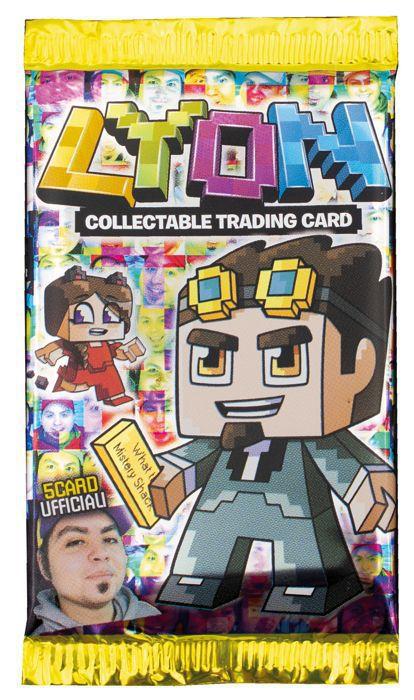 CARTE DA GIOCO LYON BUSTINA 1x5pz TRADING CARD