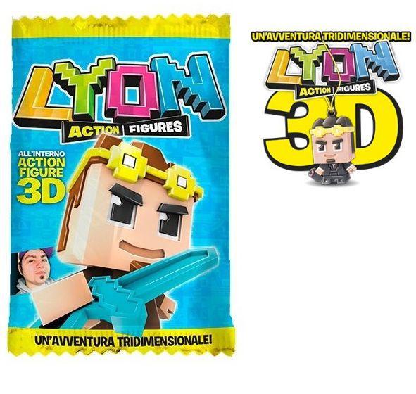 CARTE DA GIOCO LYON BUSTINA PERSONAGGIO 3D 1pz
