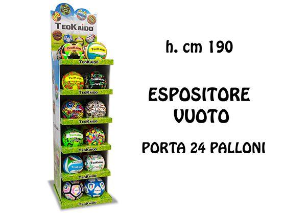ESPOSITORE PALLONI  GIOCHI TEOKAIDO CAPIENZA 24 PZ DA ASSEMBL.