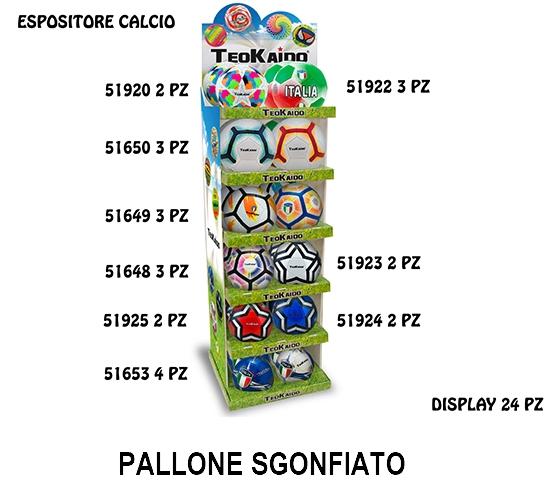 GIOCHI TEOKAIDO - EXPO 24pz PALLONE PVC CALCIO