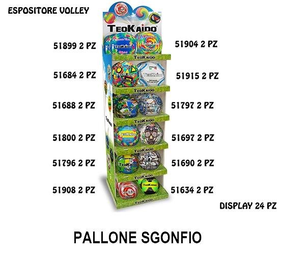 GIOCHI TEOKAIDO - EXPO 24pz PALLONE PVC VOLLEY