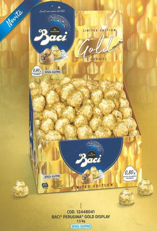 BACI PERUGINA GOLD 1500gr CA.125pz