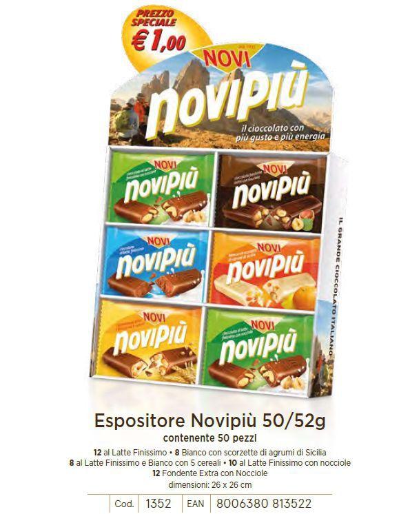 CARTONE MISTO NOVI TAV. NOVIPIU' 50/52gr 50pz C.