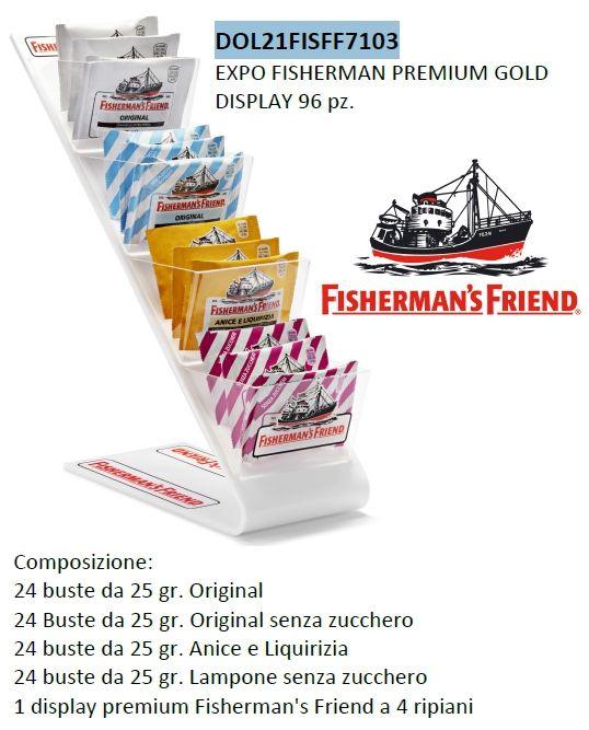 CARTONE MISTO FISHERMAN'S 96pz - EXPO DA BANCO PVC