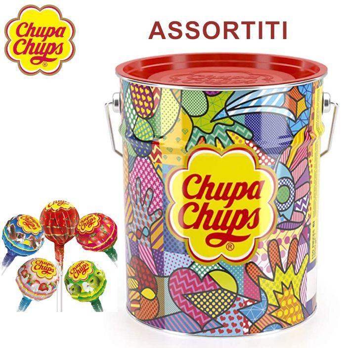 CHUPA CHUPS LATTA THE BEST ASSORTITI 150pz