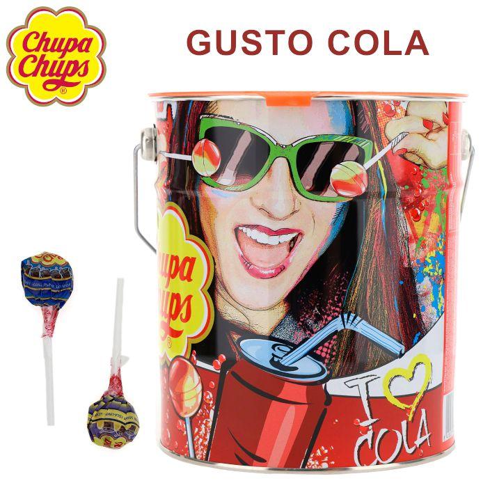 CHUPA CHUPS LATTA THE BEST 150pz COLA
