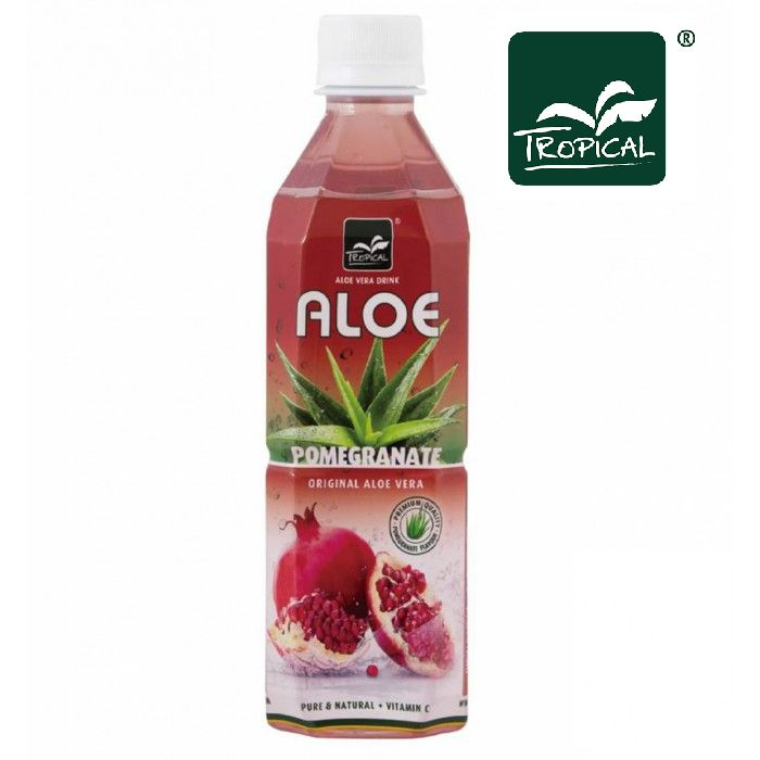 BEVANDA ALOE VERA MELOGRANO 20pz - 500ml PET