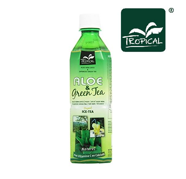 BEVANDA ALOE VERA TEA VERDE 20pz - 500ml PET