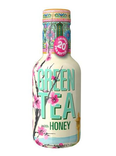 BEVANDA ARIZONA GREEN TEA LOW CAL CON MIELE 6pz - 500ml PET