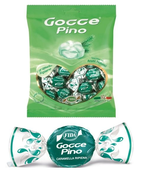 FIDA GOCCE BUSTA PINO 175+25gr