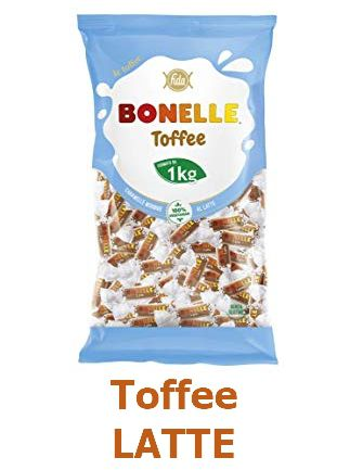 CARAMELLE BUSTA BONELLE FIDA TOFEEE LATTE 1kg SENZA GLUTINE