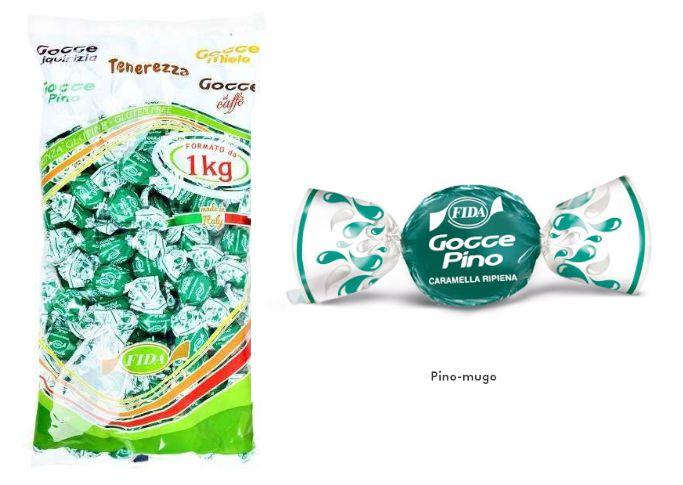 FIDA GOCCE BUSTA PINO 1kg - SENZA GLUTINE