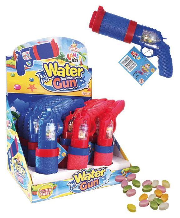 CARAMELLE TOYS WATER GUN 12pz 5g - CASA DEL DOLCE