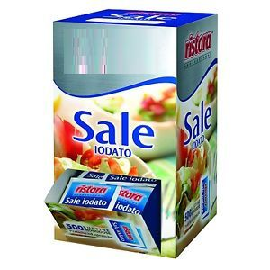 BUSTINA SALE IODATO 100pz MONODOSE FOODNESS