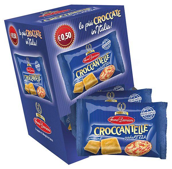 SALATI FORNO DAMIANI CROCCANTELLE PIZZA 40g 50pz