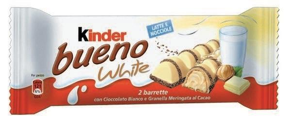 FERRERO KINDER BUENO WHITE 1170gr T2x 30pz