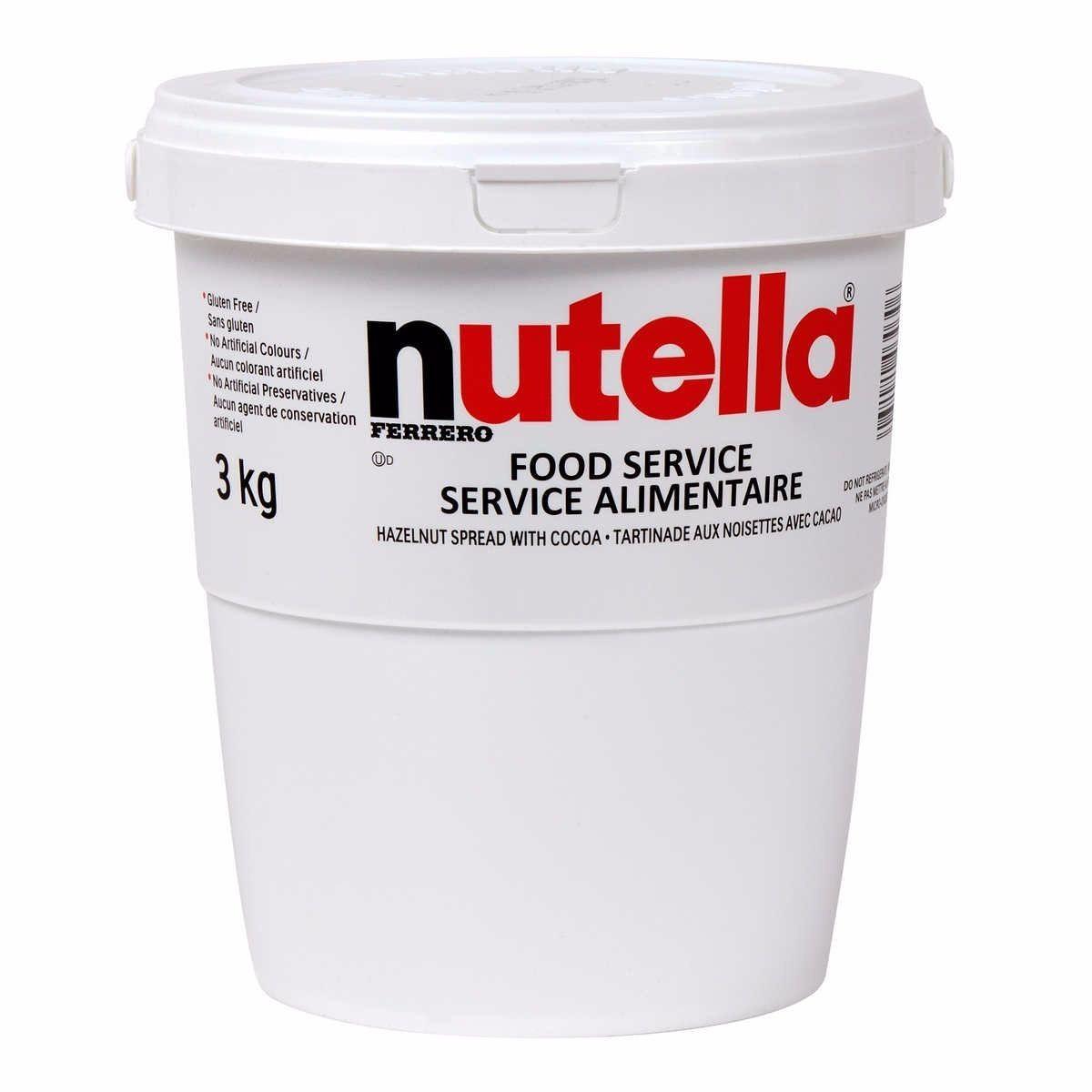 FERRERO NUTELLA 1pz BARATTOLO 3kg