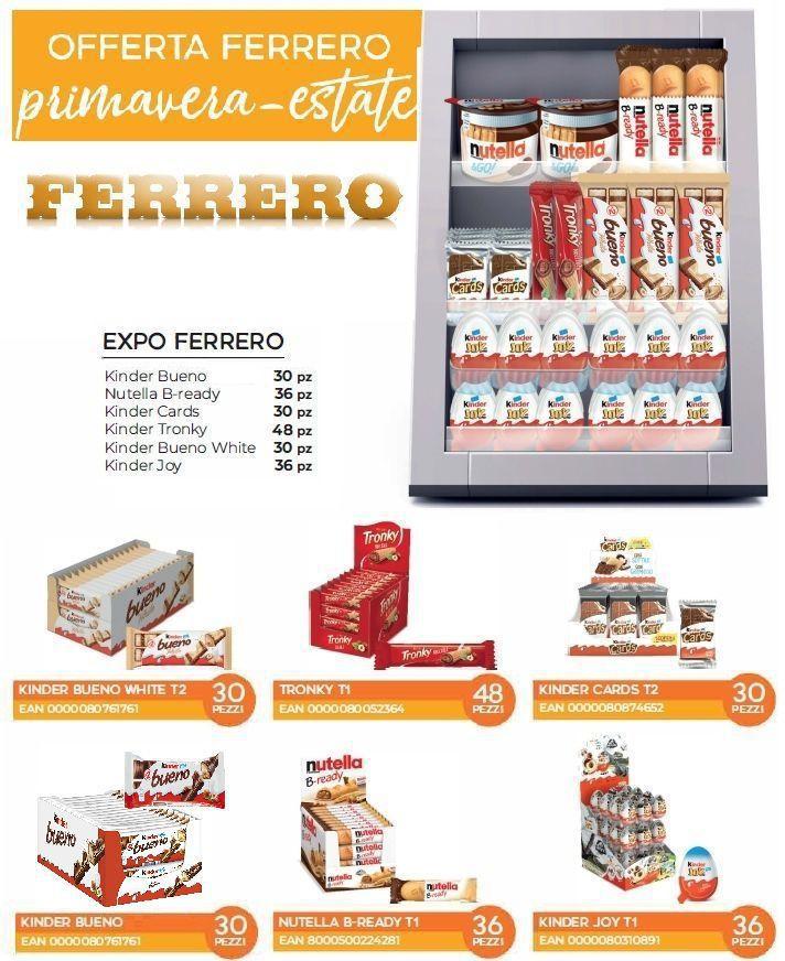 FERRERO KINDER EXPO ESTATE 204pz