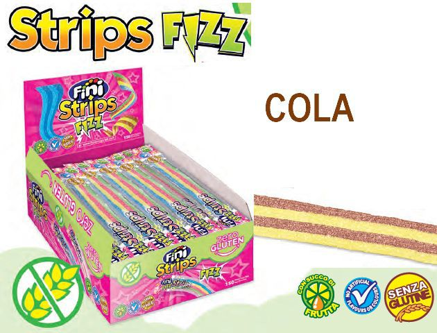 FINI STRISCIA 150pz 8gr COLA senza glutine