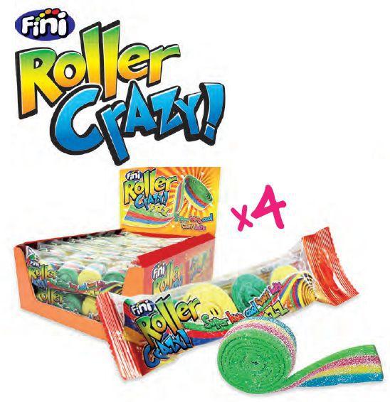 FINI ROLLER MIX CRAZY 16pz - 80gr