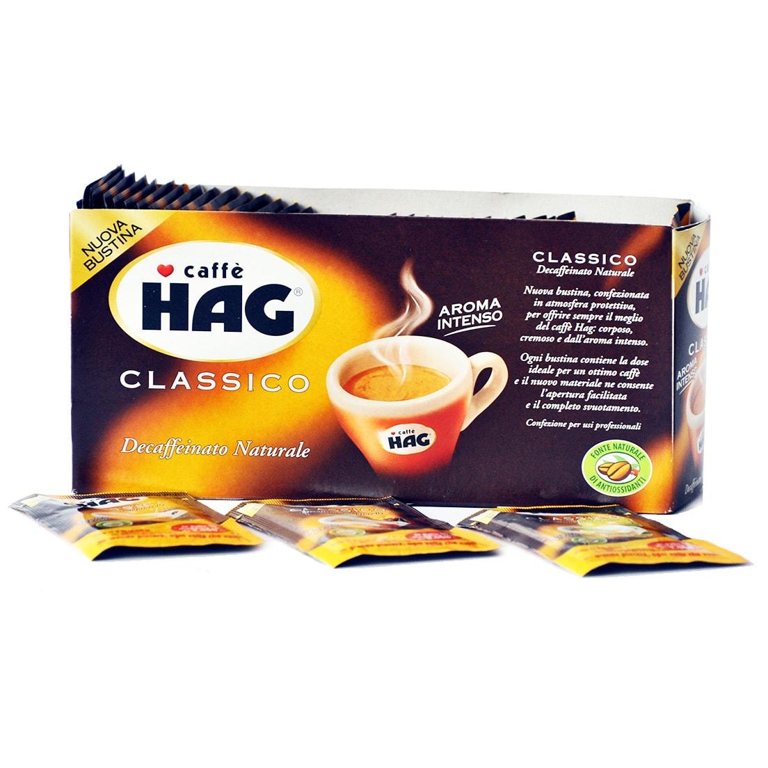 CAFFe' HAG CLASSICO 4x40 BUSTINE 6,5gr + 40 IN OMAGGIO