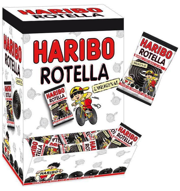 HARIBO ROTELLA INCARTATA HARIBO 200pz LIQUIRIZIA