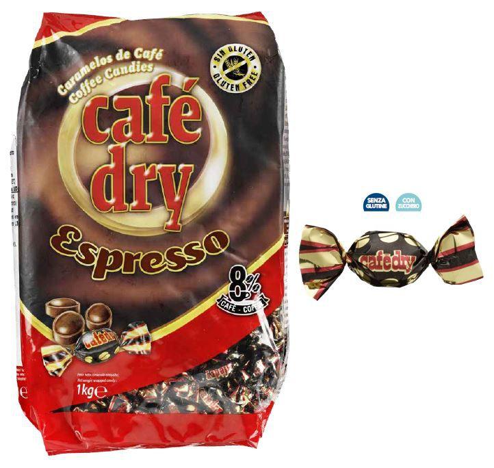 CAFE DRY CAFFE' 1Kg CARAMELLA CORTESIA (per caffe')