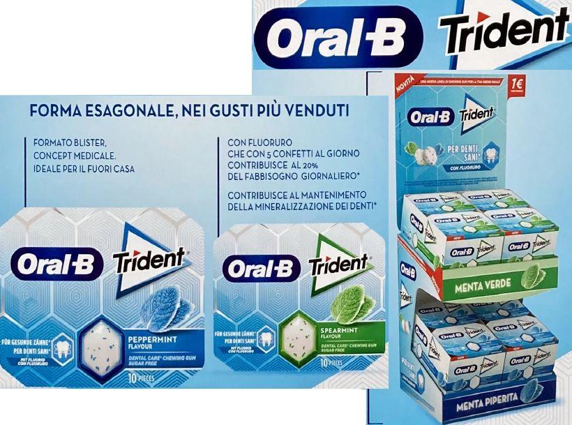 ORAL-B GUM EXPO ASTUCCIO 48pz S/Z MENTA VERDE E PIPERITA