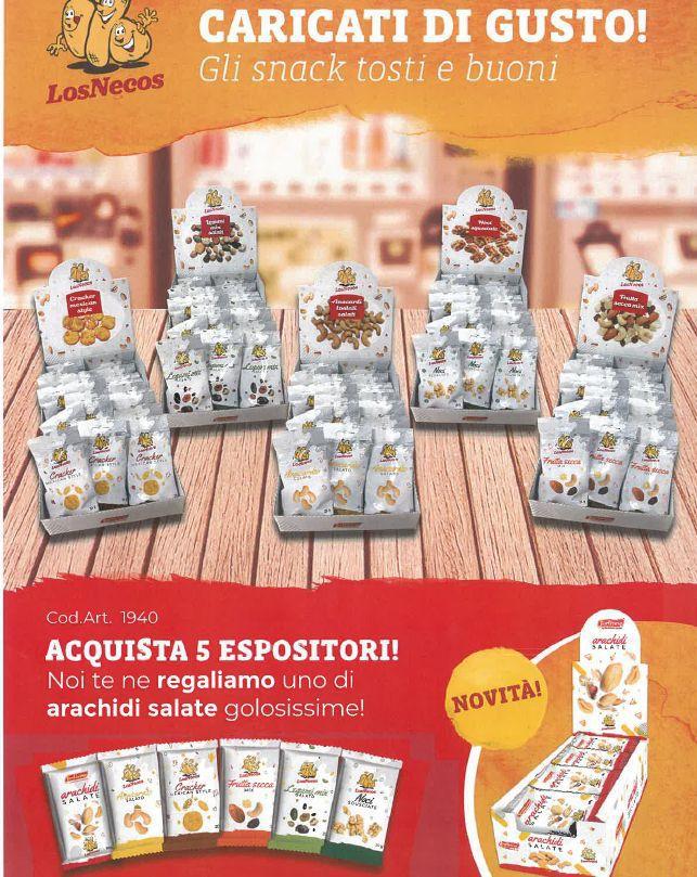 SNACK LOSNECOS COMBO 5+1 30pz x6confezioni 180pz - FRUTTA SECCA